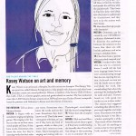 Kasey Watson - Mneme Therapist. courtesy: The Rotarian, February 2014