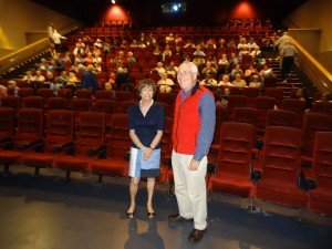 Tom Meuser, PhD & Lynn Hamilton discussing Gran Torino @ Silver Screen Series